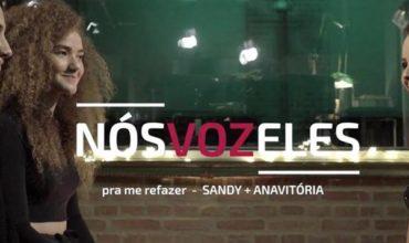 Sandy e AnaVitória juntas